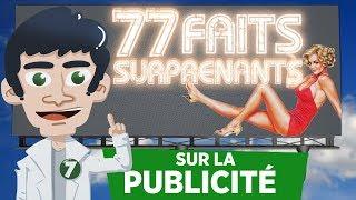 77 FAITS SURPRENANTS SUR LA PUBLICITÉ !! thumbnail