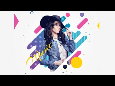 Music Abstract Art | Photoshop Tutorial | Advertising Illustration | click3d