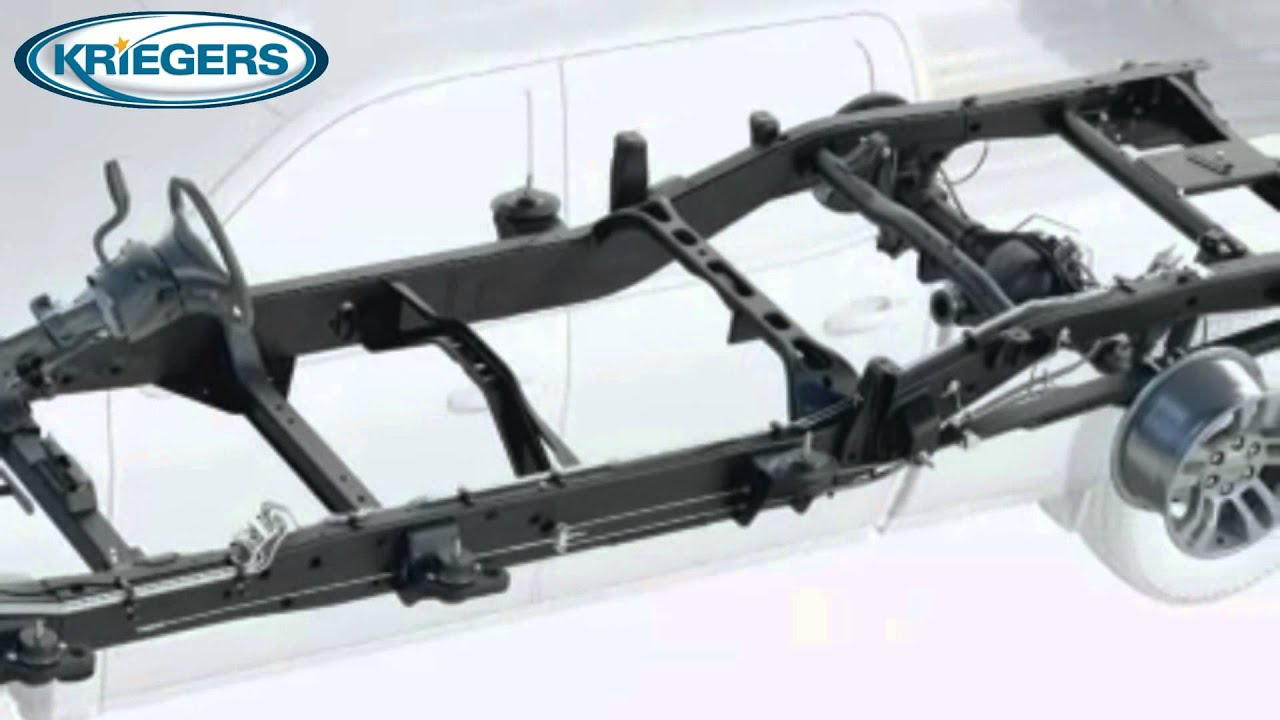 2015 Chevy Silverado Stronger Chassis and driveline - YouTube