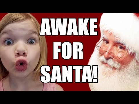 Awake For Santa Claus! Staying Up Late Christmas Eve! | Baby