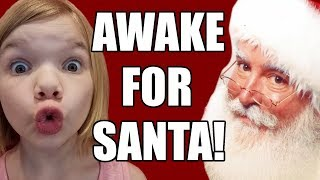Awake For Santa Claus! Staying Up Late Christmas Eve! | Babyteeth More!