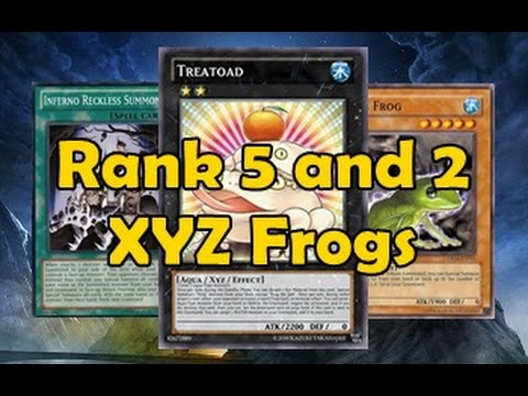Level 5 and 2 XYZ Frogs style