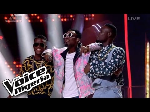 """#TeamPatoranking sings """"No Kissing Baby"""" / Live Show / The Voice Nigeria 2016"""