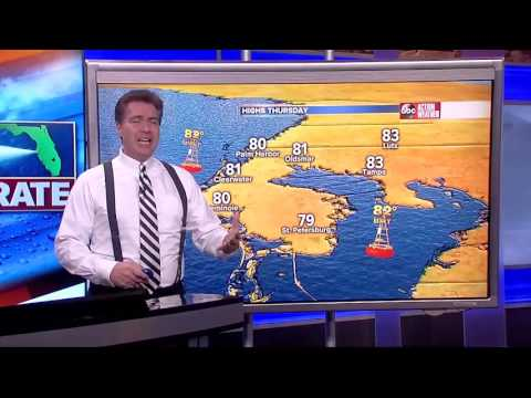 Florida's Most Accurate Forecast with Denis on Wednesday, May 24, 2017