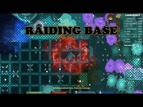 Starve.io - Raiding Epic Cave Base