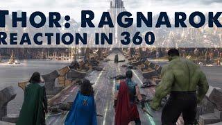 Thor Ragnarok Official Trailer Reaction In 360