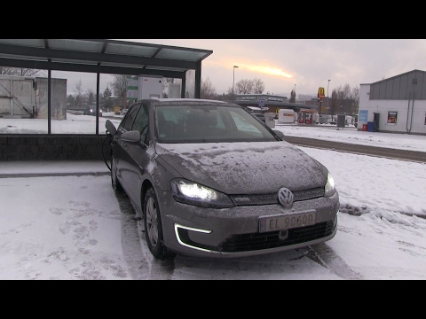 #36 Winter test of VW e Golf 24 kWh part 2