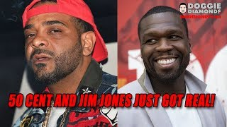 50 Cent And Jim Jones Just Got Real!