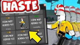 BUYING HASTE PERK IN MURDER MYSTERY 3!! (Roblox MMX)