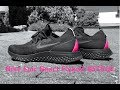 Nike Epic React Flyknit BETRUE 'Black/Black-pink blast | UNBOXING & ON FEET | running shoes | 4K