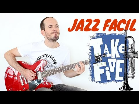 Cómo Tocar Jazz Fácil - Take Five Dave Brubeck Guitar