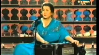Awargi Mein Hadh Se Guzar Jana  Munni Begum  Live Ghazal