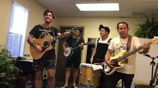 American Authors- Before I Go (acoustic) First Performance 8/18/19
