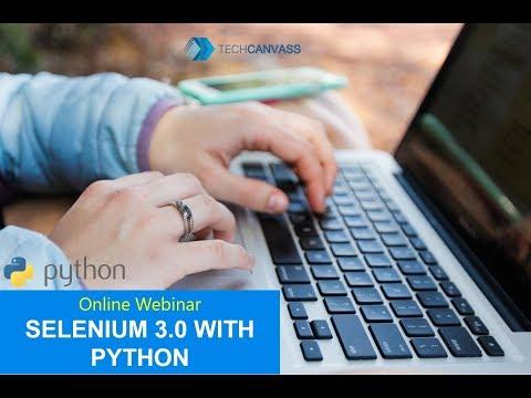 Selenium Python Tutorial   Selenium 3 0 training with Python thumbnail