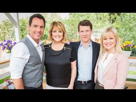 Home & Family  Eric Mabius & Kristin Booth on their new series 'Signed, Sealed, Delivered'
