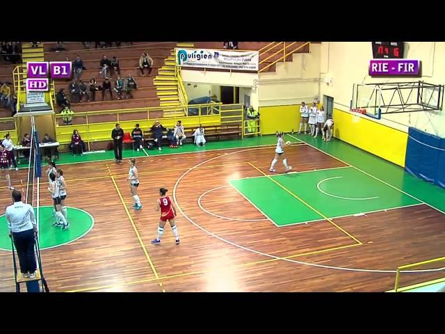Fortitudo Rieti vs S. Michele Firenze - 4° Set