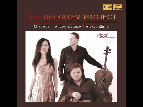 Rimsky-Korsakov Piano trio-1st Movt. Miki Aoki, A. Baranov, A. Zhilin