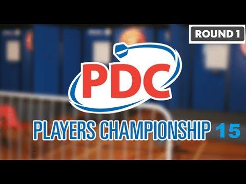 Players Championshp 15 - Round 1: Steve Hine v Luke Woodhouse
