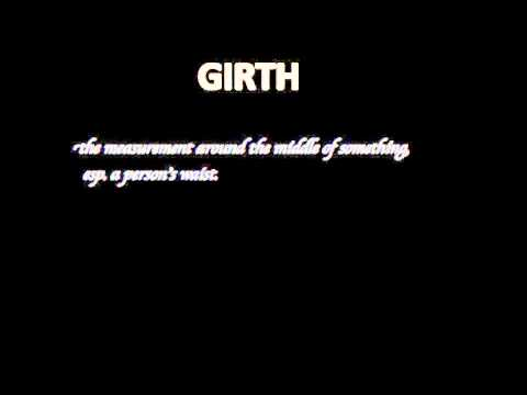 what is the meaning of girth
