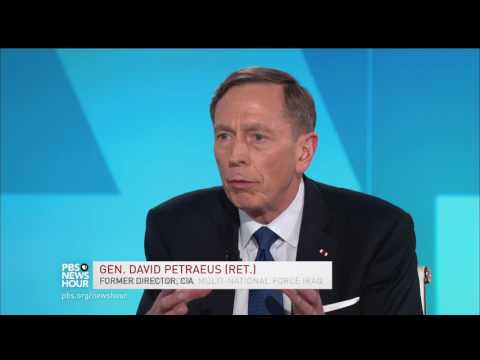 Petraeus: We went to Afghanistan for a reason, and we need to stay