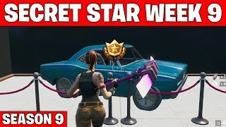 Secret star week 9 - Fortnite season 9