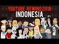 YouTube Rewind 2018 Indonesia Animasi | Warganet Life Official