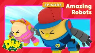 Nursery Rhymes | Amazing Robots | Didi & Friends in English