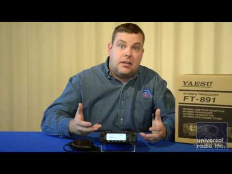Universal Radio brings you the new Yaesu FT-891 HF transceiver.