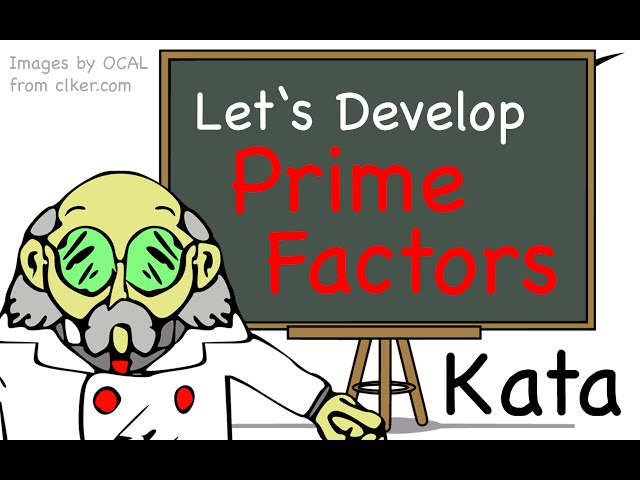 Prime Factors Code Kata by Let's Developer