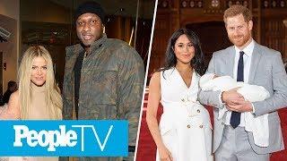 Lamar Odom On Khloé Kardashian, Prince Harry & Meghan Markle's Family Of 3 | PeopleTV