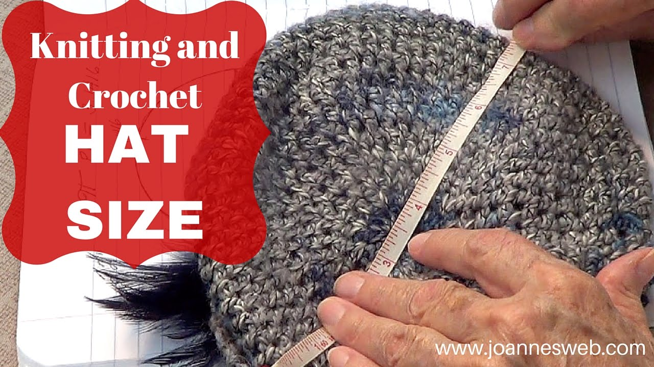 Knit Hat Stitch Calculator : How To Knit A Hat: Calculate Hat Size Knitting and Crochet - YouTube