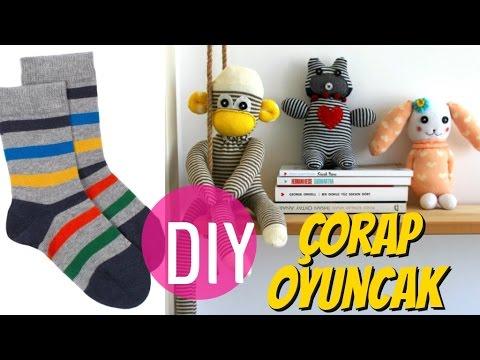 Çoraptan Oyuncak Yapımı / DIY Stuffed Toys (ENG SUB)