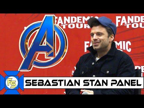 SEBASTIAN STAN Avengers Panel - Fandemic Tour Houston 2019