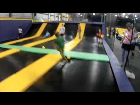 Tour of portland maine s get air trampoline park youtube