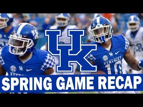 Kentucky Spring Football Game Recap 2019