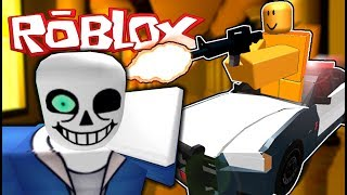 SANS BATTLE + PRISON BREAK FUNNY MOMENTS | My First Time Playing Roblox.....
