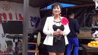 가수 김향아 국가유공자 귀빈 무료급식소 공연