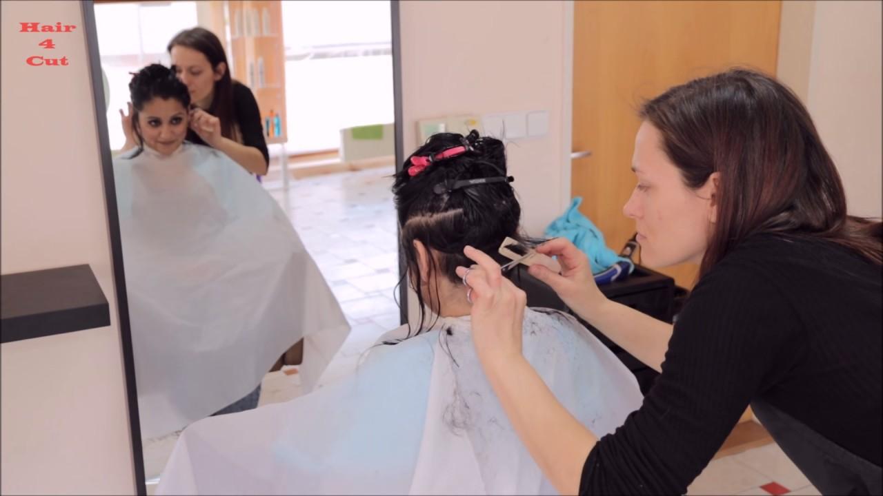 2017 21 Marie Preview Long Hair Cut To Short Bob Youtube