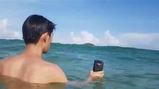Blackview BV9500/BV9500 Pro з батареєю на 10000mAh - випробування на пляжі