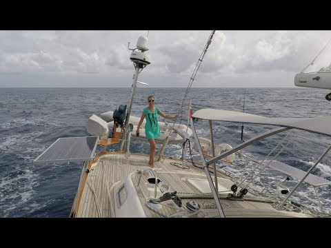 HR54 Cloudy Bay - sailing St.Lucia to Dominica, Apr 2018