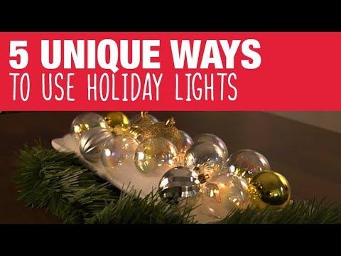 Creative Ideas for Christmas Lights - Ace Hardware - YouTube