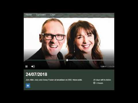 Altered Eating on BBC Newcastle Radio
