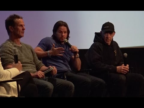 Mark Wahlberg, J.K. Simmons and Peter Berg Q&A for Patriots Day [part 1]
