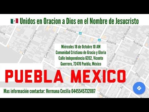 Pastor David visita Puebla | Miércoles 18 de Octubre 10 AM
