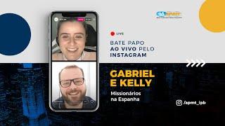 LIVE APMT com Gabriel e Kelly | Missionários na Espanha