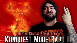 Mortal Kombat Armageddon: KONQUEST MODE (Part 2) - Mortal Kombat Monday.