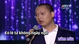 Dòng thời gian - Nguyễn Hải Phong (Official MV) Karaoke Full Beat GỐC
