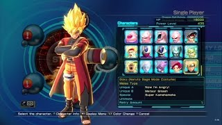 Dragon Ball Z: Battle of Z All Characters (Including DLC) [PS3]