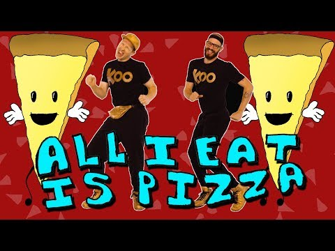 Koo Koo Kanga Roo - All I Eat Is Pizza (Dance-A-Long)