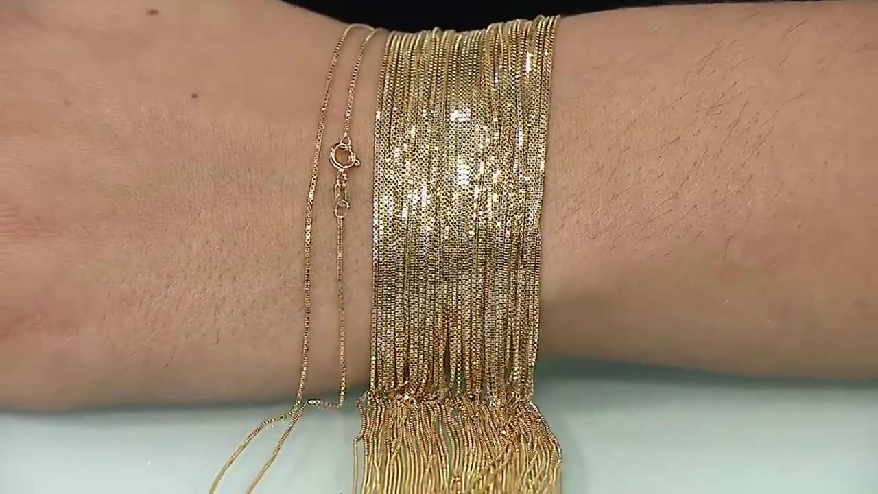 406dea248dcfc Corrente Veneziana em Ouro Amarelo! - 175095 - YouTube